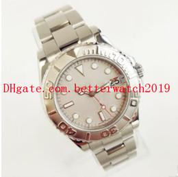 Senhoras relógios de prata on-line-Venda de alta qualidade das mulheres assista LADIES Relógios Platina 169622 Sport 29mm Estilo de Aço Inoxidável assista mecânica Automati Folding me