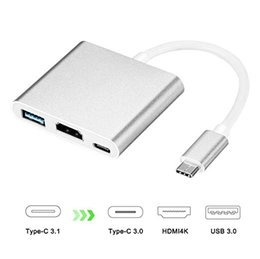 2019 mini itx pci Adaptador USB C para HDMI, Acode 3 em 1 Tipo-C para HDMI Multiport Adapter Converter com USB 3.0 + USB C Recarregando Port Compatible with Galaxy ..