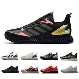 Scarpe da ginnastica zx online-Adidas 4D Solar Red OG Miami Sense Run 1.0 Mens ZX 4000 Futurecraft Casual Shoes Trainers for Men ZX4000 Carbon Sports designer Sneakers 40-45