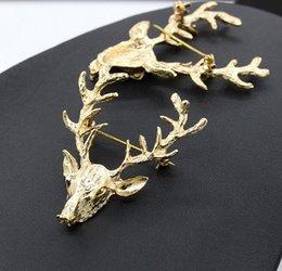 Deer Head Brooch Canada | Best Selling Deer Head Brooch from Top Sellers | DHgate Canada