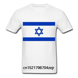 israel flags Coupons - Men T shirt GECOVE Fashion Flag Israel s white funny t-shirt novelty tshirt women