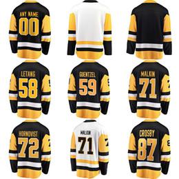 759eeeb62 Mens Womens Kids Youth Custom Blank Pittsburgh 87 Sidney Crosby 30 Matt  Murray 71 Evgeni Malkin 81 Phil Kessel 58 Kris Letang Hockey Jerseys