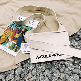 Дизайнерские женские сумки онлайн-Холодная стена жизни скейтборды дизайнер Crossbody сумка новый ACW мужская женская холст сумка мини симпатичные сумки посыльного