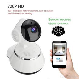 piccola telecamera interna ip Sconti Visione notturna di supporto della macchina fotografica del monitor della lente di 3.6mm HD della macchina fotografica del IP di Wifi HD 720P
