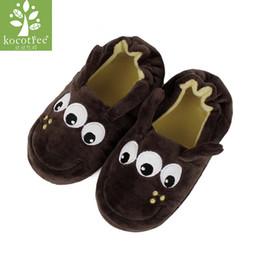 Kocotree Winter Kinder Hausschuhe Mädchen Jungen Haushalt Baumwolle Schuhe Cartoon Holzboden Schlafzimmer Baby Warme Hausschuhe Kinder Schuhe