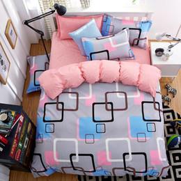 комплект постельного белья из египетского хлопка Скидка Наборы король или королева размер постельных принадлежностей постельное белье 4шт одеяло роскошные одеяла наборы покрывало