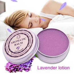 Sahne-lavendel online-Effektiver Lavendel-Aromabalsam Hilft bei der Behandlung von Schlaflosigkeit mit einer beruhigenden Creme aus ätherischen Ölen
