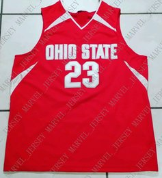 f23af44ec02 Cheap custom Rare Ohio State Buckeyes NCAA STITCHED Basketball Jersey  23 Customize  any number name MEN WOMEN YOUTH XS-5XL discount ohio state jersey custom
