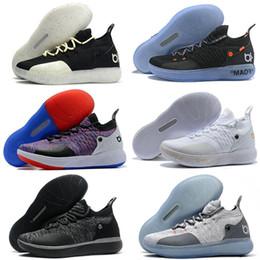 2019 новое прибытие Zoom KD 11 Мужчины баскетбольная обувь KDS XI Кевин Дюрант открытый баскетбол обувь размер США 7-12 supplier kevin durant shoes size 12 от Поставщики кевин дюрант размер 12