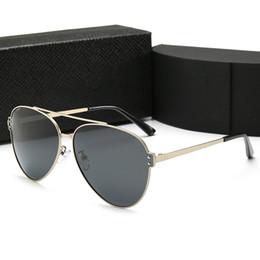 2019 óculos polarizados uv aviador Designer de luxo Elipse Óculos De Sol De Qualidade Moda Aviadores Homens Famosos Homens Construir Óculos De Sol De Metal Óculos Polarizados UV Com Caixa PLD5 óculos polarizados uv aviador barato