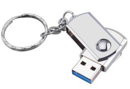 Capacidad de almacenamiento en caliente 128 GB de metal giratorio USB 2.0 Memoria de la unidad Llave del pulgar Teclado Lápiz Almacenamiento desde fabricantes