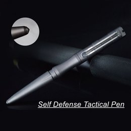 safety pens Promo Codes - New Style Self Defense Personal Safety Tactical Pen Pencil with Writing Function Tungsten Steel Head Emergency Tool