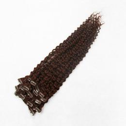 Светло-пепельно-коричневого цвета Зажим для наращивания волос 100% человеческих волос 10-30 дюймов Зажим для наращивания вьющихся волос supplier curly light brown human hair extensions от Поставщики курчавые свет - коричневые выдвижения человеческих волос