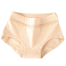 Модные трусики онлайн-Women Fashion Cotton Soft Sexy Brief Fashion Cozy Seamless fancy lace calcinha renda Lingerie Thread Soild Underwear Panties Hot