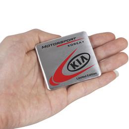2019 emblème k5 Style de voiture 3D Développement en métal édition limitée autocollant emblème Decal Pour Kia Ceed Rio Sportage R K3 K4 K5 Ceed Sorento Cerato emblème k5 pas cher