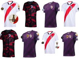 Heimplatten online-Top qualit 2019 2020 River Plate Fußball Jersey Home weiß River Plate weg rotes Fußball Shirt 19/20 Flussbett Maßgeschneiderte Fußball Uniform Sales