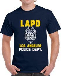 2019 oficial de policia El Departamento de Policía de Los Ángeles, oficial de Lapd, inspiró a Custom City Unisex camiseta Divertido envío gratis Unisex Casual top oficial de policia baratos