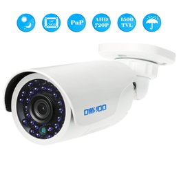 sistemas de seguridad para el hogar al aire libre Rebajas Wifi Cámara IP 720P AHD Bullet Visión Nocturna IR Video Inalámbrico CCTV Cámara Bebé Monitor Al Aire Libre Sistema de Vigilancia de Seguridad para el Hogar