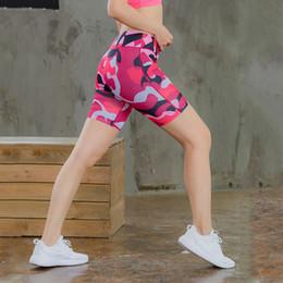 camouflage outfits frauen Rabatt Frauen Yoga Shorts Legging Camouflage Gedruckt Sport Laufshorts Solide Hohe Taille Fitness Yoga Outfits Damen Elastische Beiläufige Shorts