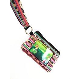 Bolsa de neopreno creativa Bolsillo de bolsillo Mujeres Mini billetera de las señoras bolsa colgando Monedero impermeable Caja de ranura de tarjeta de identificación de crédito con cordón 2019 desde fabricantes