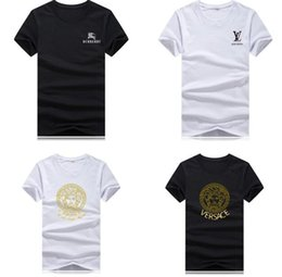 bells clothing Promo Codes - 2019 Luxury Summer Men Women O-neck T Shirt Casual Sportswear Short Sleeve Designer Mens Clothes Trend Casual Slim Fit Top Tees S-5XL