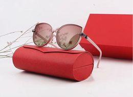 Acessórios para lentes on-line-Designer polarizerd óculos de sol para mens espelho de vidro gril lense óculos de sol do vintage óculos acessórios das mulheres com caixa de 2975 #