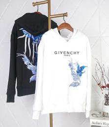 suéter mujer pájaro Rebajas 19FW nuevo diseño de marca de lujo GIV Blue bird bordado sombrero suéter de cuello redondo Hombres Mujeres Moda transpirable al aire libre