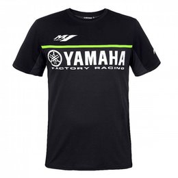 camisolas de gelo Desconto Moto GP Corrida de Moto M1 motocross para Yamaha T shirt Roupas de Equitação homens de manga curta jerseys Respirável gelo frio sentir ZHB8129-1