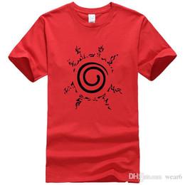 Argentina Ropa de diseñador para hombre marca polo verano anime caliente camiseta homme sangre juventud Uzumaki Naruto marca de moda ropa fitness hombres camiseta Suministro