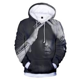 ropa casual para hombres Rebajas Nueva moda EMINEM cool hip hop 3d sudaderas con capucha pullover hombres mujeres sudadera con capucha sudaderas con capucha tops casual de manga larga con capucha sudadera 3D ropa