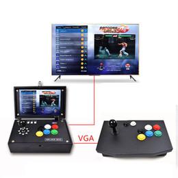 jogo de arcade de tv Desconto 10 Polegada LCD Game Player 3D Double Arcada caixa de jogos Handheld consola de jogos HDMI out TV player Descompressão brinquedo melhor presente