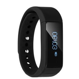 I5 plus schlaue uhr online-I5 Plus Smart Wirstwatch Armband Bluetooth Anrufer ID Nachricht Erinnerung Fitness Tracker Passometer Schlaf Monitor Smart Watch für iOS Android