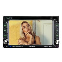 carro japonês dvd player Desconto Car Stereo Bluetooth Duplo 2 Din Rádio Em Dash Car Multimedia Player com 7 '' Full-Touch Screen Car DVD CD Player Cabeça UnitHEVXM HE-6609