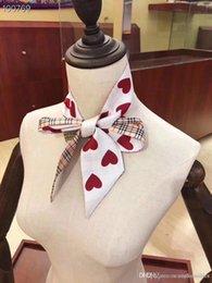 19ss Nouvelle marque de luxe design BBR plaid soie bandeau hairlace Top Qualité foulard Foulard Femmes Lady Fashion Tie accessoires foulards ? partir de fabricateur