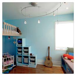 10шт 9W светодиодные лампы глобус для спальни гостиная освещение B22 E27 200-240 В белый свет с пластиковым покрытием алюминия от