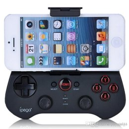 ipega ios игры Скидка IPEGA PG-9017S Игровой контроллер Беспроводная связь Bluetooth 3.0 Геймпад Joypad с подставкой для Android Смартфон для планшета iOS Смарт-ТВ-приставка E284