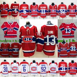 b5af9477b Montreal Canadiens Max Domi Carey Price Andrew Shaw Jonathan Drouin Brendan  Gallagher Shea Weber Jean Beliveau Womens Youth Hockey Jerseys supplier  jonathan ...