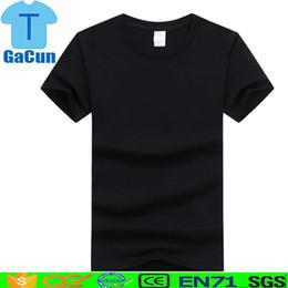 Impressão de fotos na china on-line-China fábrica Família Logotipo Personalizado Foto Impressão de Texto T camisa preta Manga Curta Pai T-shirt Dos Miúdos Tops