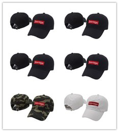 swag hats Promo Codes - Hot New Dad Hat Baseball Cap hats bone gorras swag savage hat Fashion Adjustable palaces polos street Hip hop rap skateboard dad hat