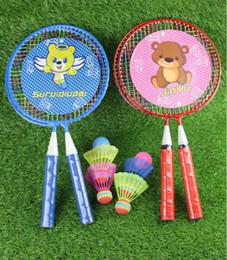 2019 brinquedo g1 Raquete de Badminton das Crianças Esportes Conjunto de Desenhos Animados Grande Rodada Raquete Conjunto de Brinquedos de Fitness Intelectual das Crianças frete grátis brinquedo g1 barato