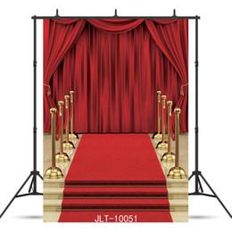 fotografia sfondo tenda Sconti scala tappeto rosso tappeto Vinile fotografia sfondo per ritratto bambini baby shower nuovo nato foto foto sparare photocall