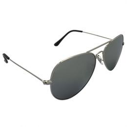 2019 espejo enmarcado en plata ovalada KUPNEPO Mujeres Marca de Lujo de Diseño Espejo Gafas de Sol Flying Classic Silver Frame Silver Gradient Lens Gafas de Sol Envío Gratis R133 3026 rebajas espejo enmarcado en plata ovalada