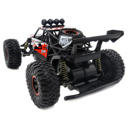 Coches de carreras todoterreno online-1/18 4WD 2.4 GHz 16 km / h Independiente Suspensión Spring RC Off Road Car Racing Car Carro RC Electric Car Control Remoto