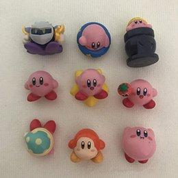 stelle figure Sconti Star Kirby action figures PVC bambini giocattolo per bambini 3 cm / 1,2 pollici spedizione gratuita LA63