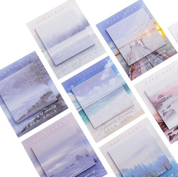 Argentina Paisaje creativo Blocs de notas Notas adhesivas Blocs de notas Lindo N veces Notas Pegatinas para el regalo Útiles escolares de oficina Papelería Suministro