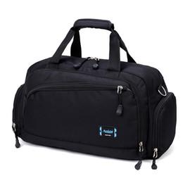 2019 kompressionstaschen zum verpacken Gym männer sport fitness pack zylinder eine schulter sporttasche frauen handtaschen reisetaschen nylon wasserdichte handtasche paket c19021301 rabatt kompressionstaschen zum verpacken