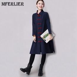 grabenmantelschnalle Rabatt Mferlier - Autumn Artsy - Trenchcoat - Stehkragenpaneel mit plissierter Schnalle, einreihiger Manteau Femme mit langem Trenchcoat