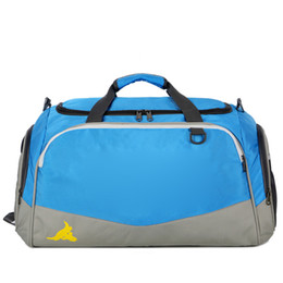 Mejores mochilas al aire libre online-Bolsa de lona Mochila Bolsa de hombro Bolso Mujeres Hombres Bolsas de gimnasio Mochila impermeable al aire libre Bolsas de viaje deportivas Mejor DHL