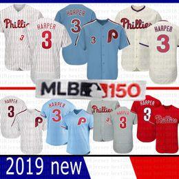 38c7b190029 3 Bryce Harper Philadelphia Phillies Baseball Jersey 2019 Neue  majestätische kühle Flex-Basis St. Louis Cardinals 46 Paul Goldschmidt  günstig st louis ...