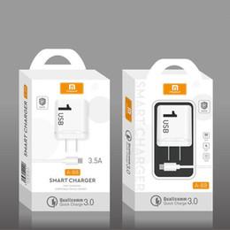 enchufe uk principal Rebajas Tipo de EE. UU. Cargador de teléfono móvil con cable Cargador de embalaje al por menor para iphone x samsung s10 huawei p30 xiaomi